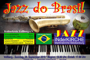 """Jazz do Brasil"" - Jazz-Konzert in der Martinskirche"